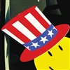 Uncle Sam Hat Decal