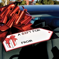Gift Tag Decal