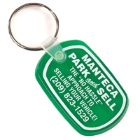 Soft-Touch Number 1 Key Fob