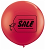 3ft SALE Red Balloon