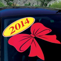 Holiday Decals - Bow