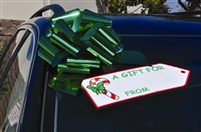 Holiday Gift Tag Decal