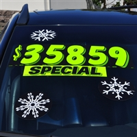 Holiday Decal - Snowflakes