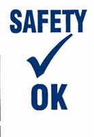 Safety Check Decals