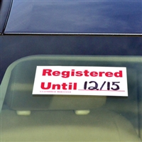 Registered Decal