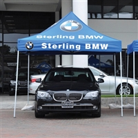 10' X 10' Custom Imprint w/ Valance Imprint One Color Tent