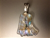 Freeform Dichroic Glass Pendant
