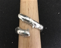 Size 5 Sterling SilverRing with Clear CZ