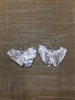 Real Ginkgo Leaf Earrings