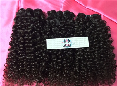 "Brazilian Doll ""NOT SO"" Kinky soft curl"