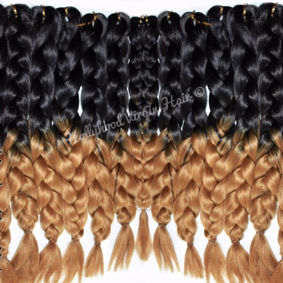 Ombre Kanekalon Braiding Hair