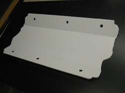 Lexan Chevrolet Manifold Valley Cover by Precision Plastic Products, Inc.