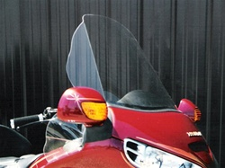 Honda Deluxe Goldwing 1800 Windshield by Precision Plastic Products, Inc.