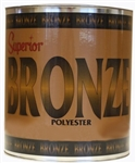 Superior Bronze Polyester Adhesive, Flowing