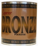 Superior Bronze Polyester Adhesive, Knife Grade, 1 Gallon