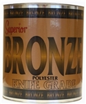 Superior Bronze Polyester Adhesive, Knife Grade,