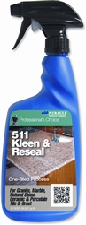 Miracle Sealants 511 Kleen & Reseal Cleaner, 32 oz. Spray