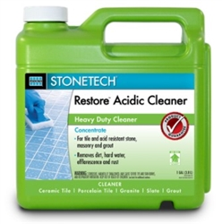 StoneTech Professional Restore Acidic Cleaner, Gallon (Concentrate)