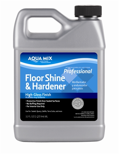 Floor Finish Aqua Mix Floor Shine Amp Hardener Qrt