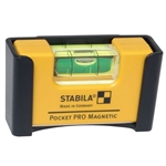 Stabila Pocket Pro Magnetic Level with Holster
