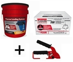Tuscan Leveling System, 200 Cap & 500 Strap Package with FREE Standard Installation Tool