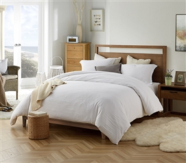 Natural Loft Twin XL Comforter - White