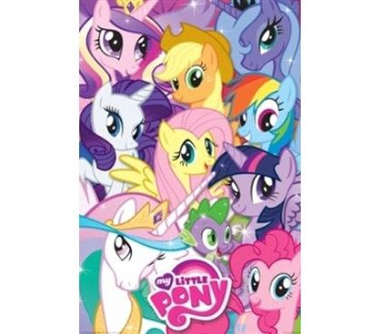 Must Have Dorm Item For Girls - My Little Pony Poster - Cute College Poster