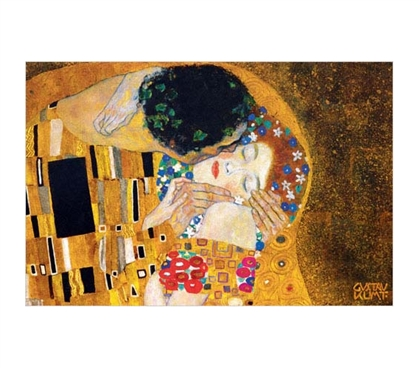 The Kiss (Der Kuss) - Klimt, Gustav  Poster - Unique Dorm Room Poster