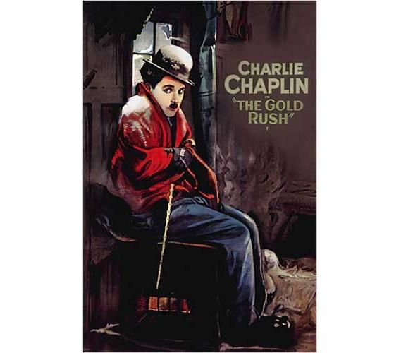 Charlie Chaplin Gold Rush Poster Dorm Room Items Decor