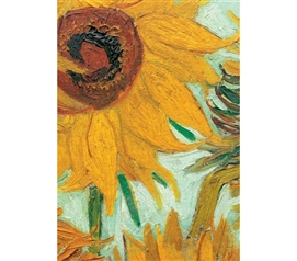 Vase with Twelve Sunflowers - Van Gogh Poster