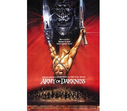 Army of Darkness Tribute to Movie Art