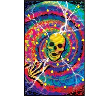 Add Color To Wall Decor For College - Cyber Junkie Poster - Crazy College Poster