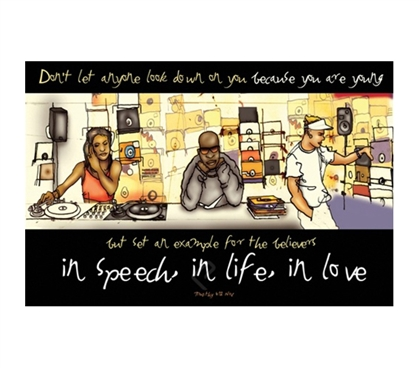 Motivational In Speech, In Life, In Love Poster