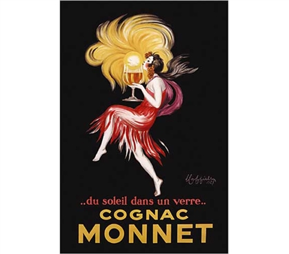 Dorm Room Decoration - Cognac Monnet - Cappiello, Leonetto  Poster - Cool Dorm Art Poster