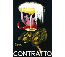 Art Poster For College - Contratto Poster - Dorm Decor Must Have
