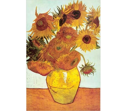 Great For Art Lovers - Van Gogh - Twelve Sunflowers Poster - Classy Art Poster