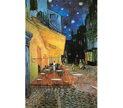 The Cafe Terrace at Night Paintin - Van Gogh - Stylish Poster
