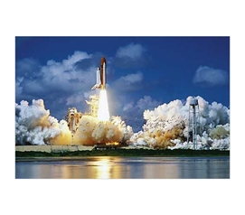 Decorate Your Dorm - Space Launch at NASA - Dorm Life Poster - Cool Wall Decor