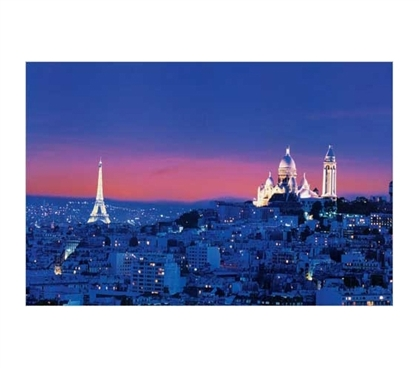Decorate Your College Dorm - Paris At Night Poster - Cool View Of Paris