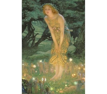Beautiful & Warming - Midsummer Dream Art - Hughes Poster