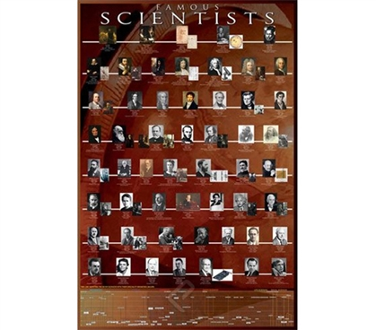 Unique Famous Scientists Poster Essential