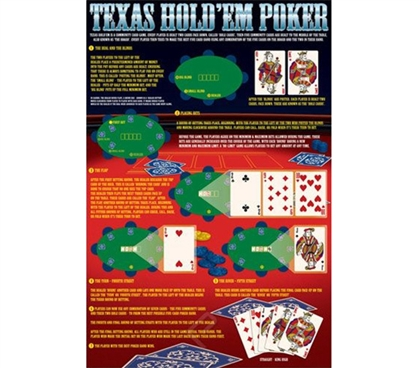 Awesome Rules of Texas Hold'em Poster