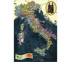 Historic and Refined - Vini d'Italia Poster - Great Decor For College
