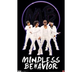 Add Dorm Products - Mindless Behavior Poster - Music Posters For Dorms