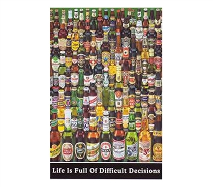 Decisions Poster - Dorm Room Supplies