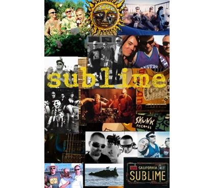 Great For Band Fans - Sublime Collage Poster - Decorate Your Dorm