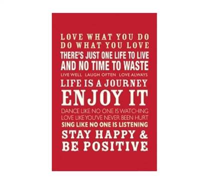 Inspirational Posters - Enjoy Life Poster - Best Products For College