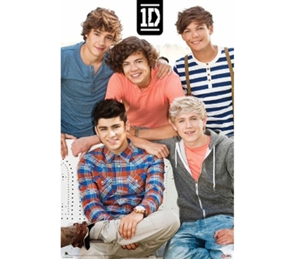 Decorate Your Dorm Room - One Direction Poster - Great Poster For Girls