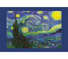 Famous Painting of Vincent Van Gogh - Starry Night Poster