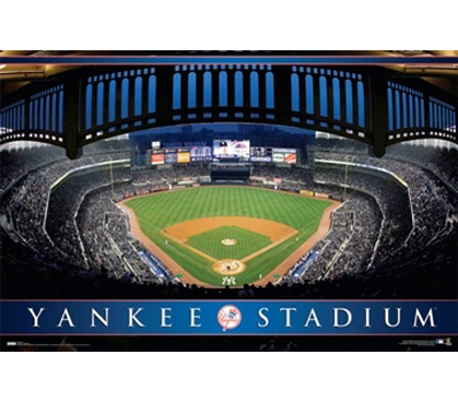 Great For Baseball Fans - Yankee Stadium Poster - Decorate Dorm With Sports Posters